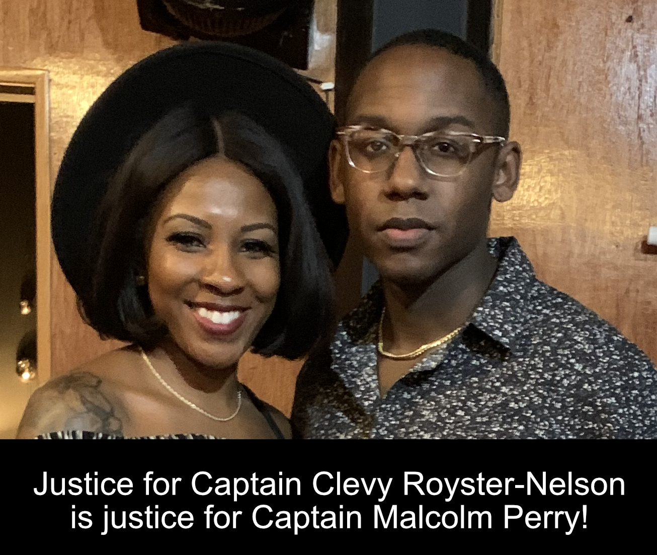 Captain Clevy Muchette Nelson-Royster - #justiceforclevy